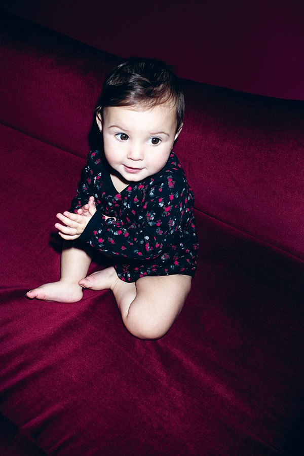 VATTER Baby Body Small Flowers