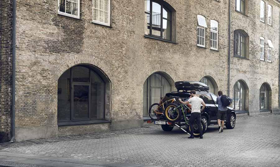 der neue thule easyfold xt fahrradtr ger ist da eurobike. Black Bedroom Furniture Sets. Home Design Ideas